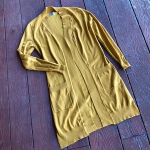 Tops - {Cielo} golden yellow cardigan